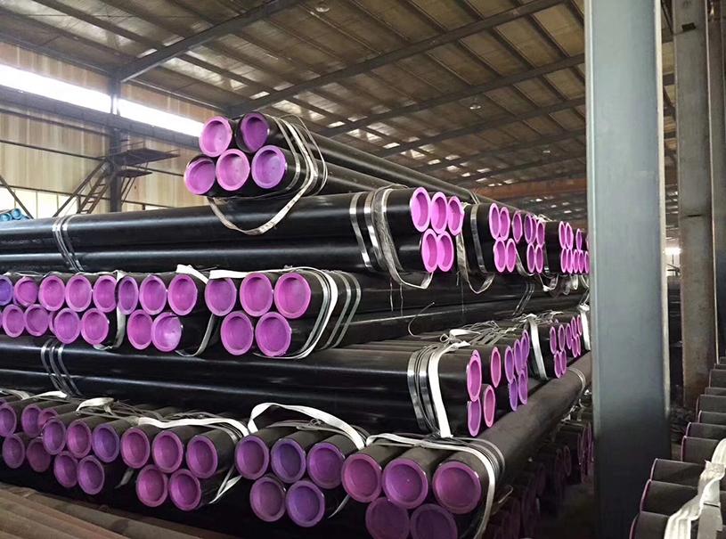 Seamless Steel Pipe ASTM A106 ASTM A53 GR.B GR.C SMLS