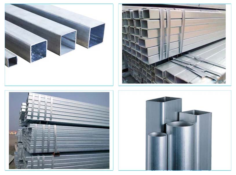 Hot Pregalvanized Hollow Section Square Steel Pipe For Building