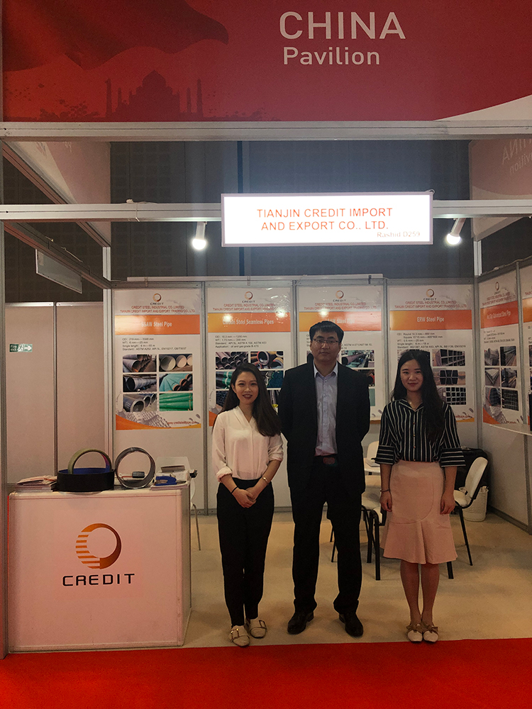 Credit (THE BIG5 Exhibition in Dubai)