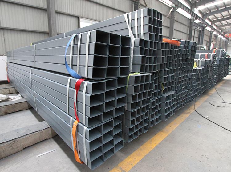 Pre-Galvanized Rectangular Steel Tube