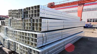 Galvanized Square Rectangular Tube And Straight Welded Pipe