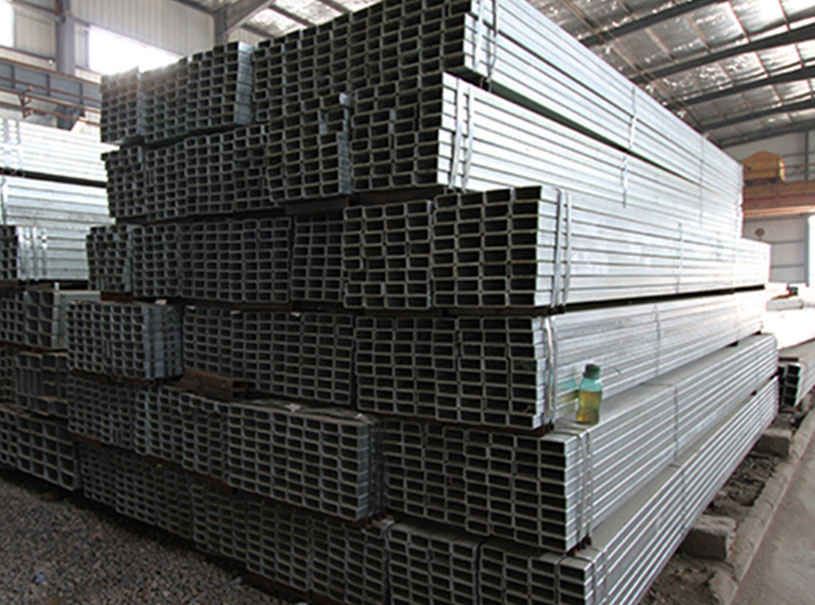 Rectangular Galvanized Steel Pipe