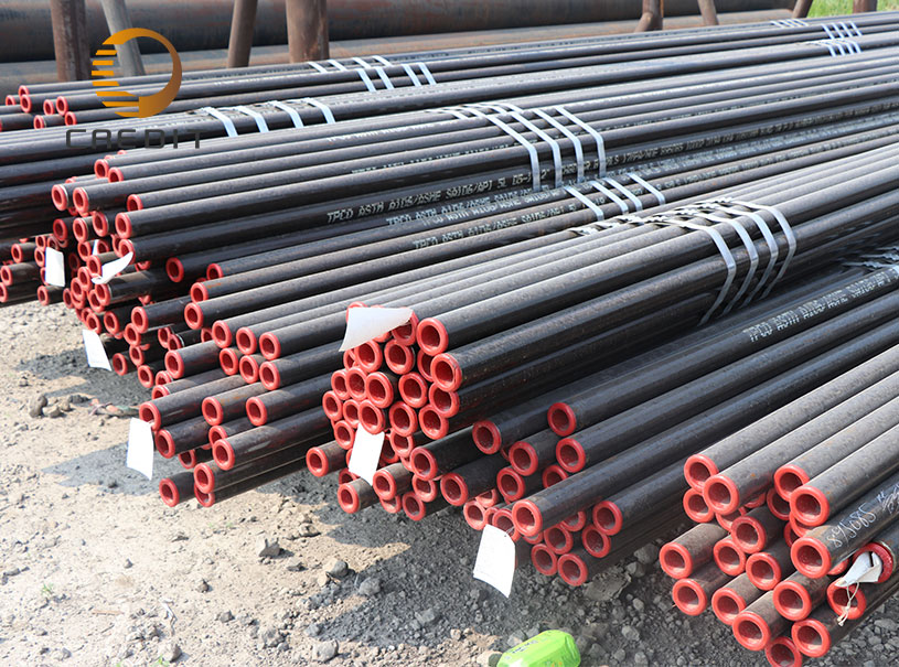 API 5L ASTM A106 A53 Grade B Black Color Seamless Steel Pipe For Oil and Gas Line