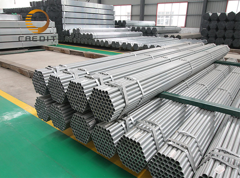 Hot Dip or Cold GI Galvanized Steel Pipe and Tubes