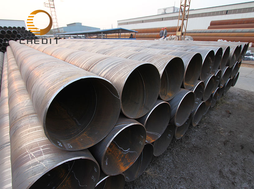 Gas Water Oil Transportation SSAW Carbon Steel Pipe