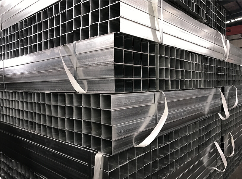 Hot Pre Galvanized Hollow Section Square Steel Tube For Building