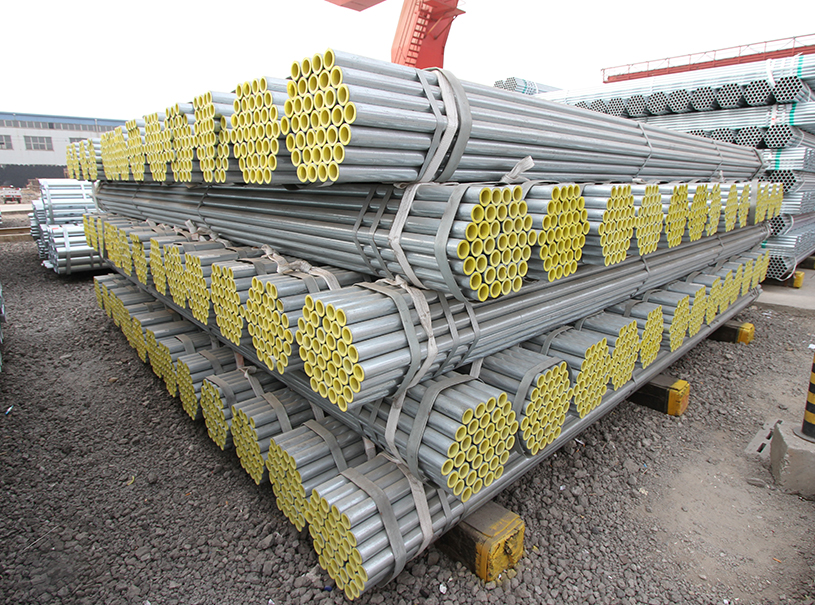 Hot Dip Galvanized Round Steel Pipe  GI Pipe