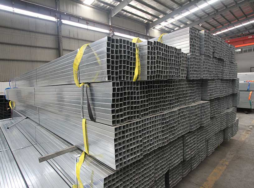 Galvanized Square Tube And Rectangular Tube For Furniture Structures