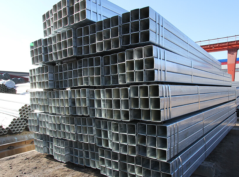Hot Dip Galvanized Steel Square Pipe