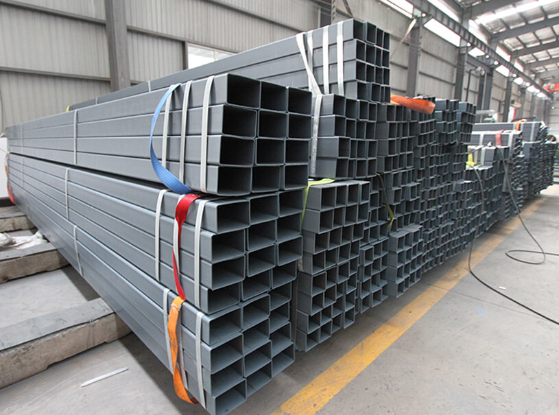 Pre-Galvanized Rectangular Steel Tube