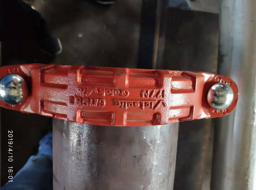 Fire Pipe Groove ASTM A795 ERW Steel Pipe