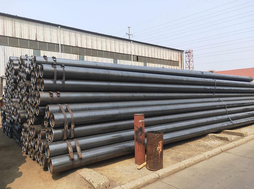 Welded Steel Pipe EN10210 EN10219 S275JR-S355J2H ERW HFW