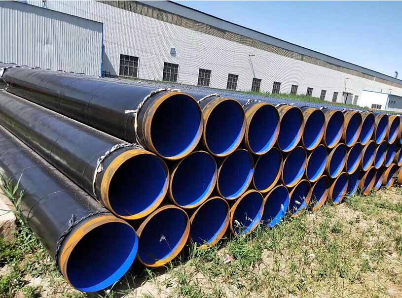 Oil Gas Pipeline 3LPE 3LPP API 5L SSAW Steel Pipe