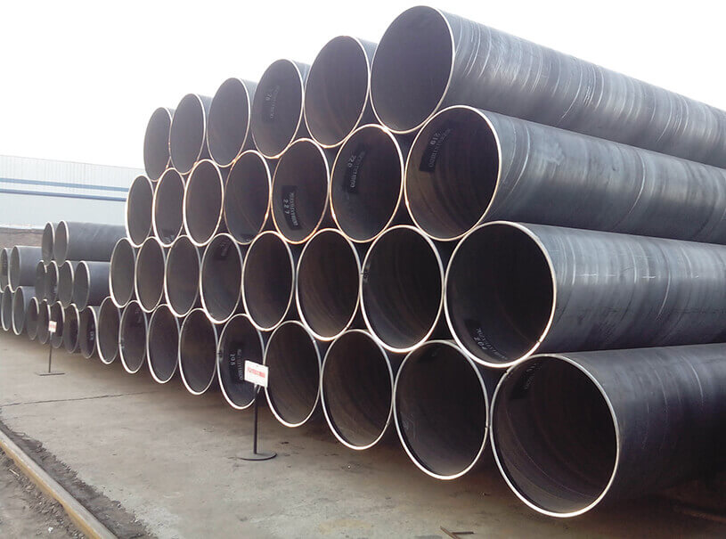 Oil Gas Pipeline API 5L ISO3183 PSL1 PSL2 X42-X80 Spiral Steel Pipe