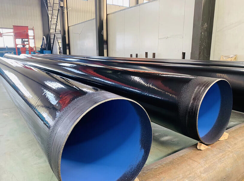 Dredging Pipeline ASTM A53 3PE FBE Spiral Steel Pipe