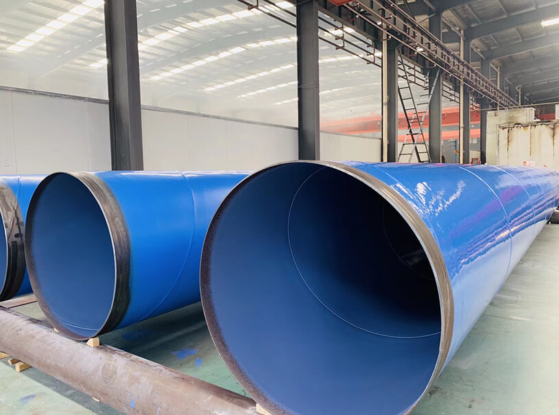 Fluid Pipeline API 5L ASTM A53 HSAW Steel Pipe