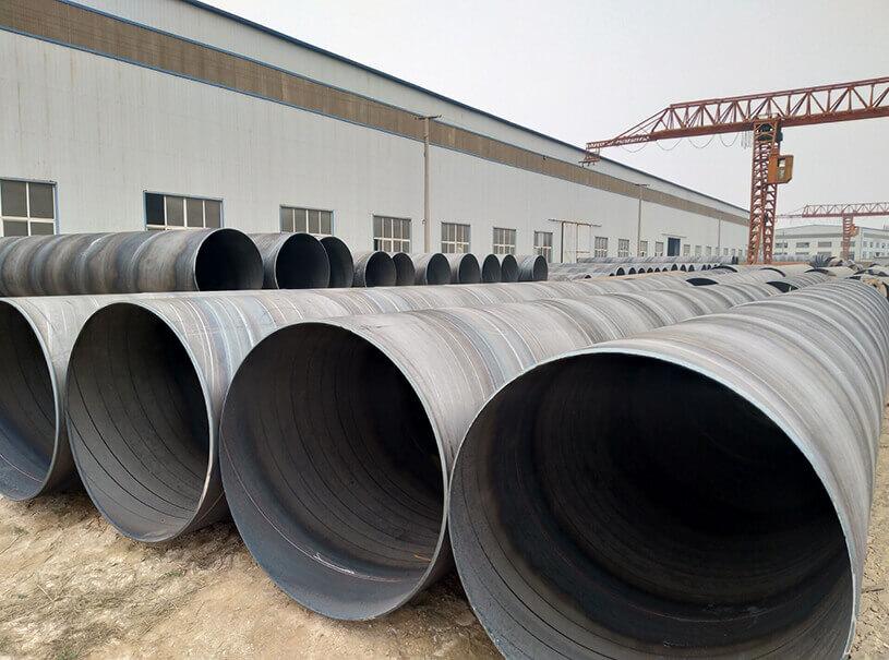 Water Fluid Pipeline API 5L PSL1 PSL2 GR.B-X70 SSAW Steel Pipe