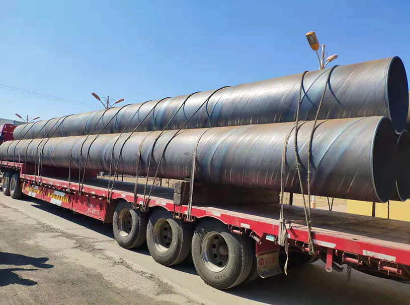 Pipe Piling ASTM A252 R1 R2 R3 SSAW Steel Pipe