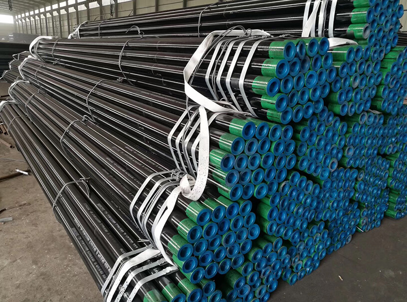 Oil Gas Linepipe API SPEC 5L 21.3mm-609.6mm Seamless Steel Pipe