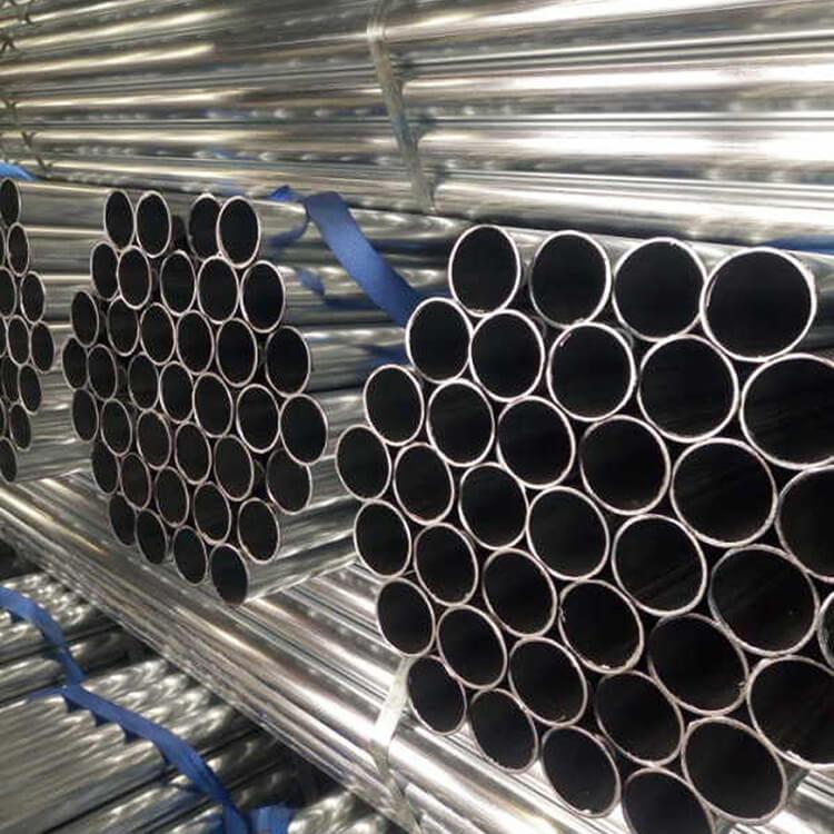 Round Pre-Galvanized Steel Pipe