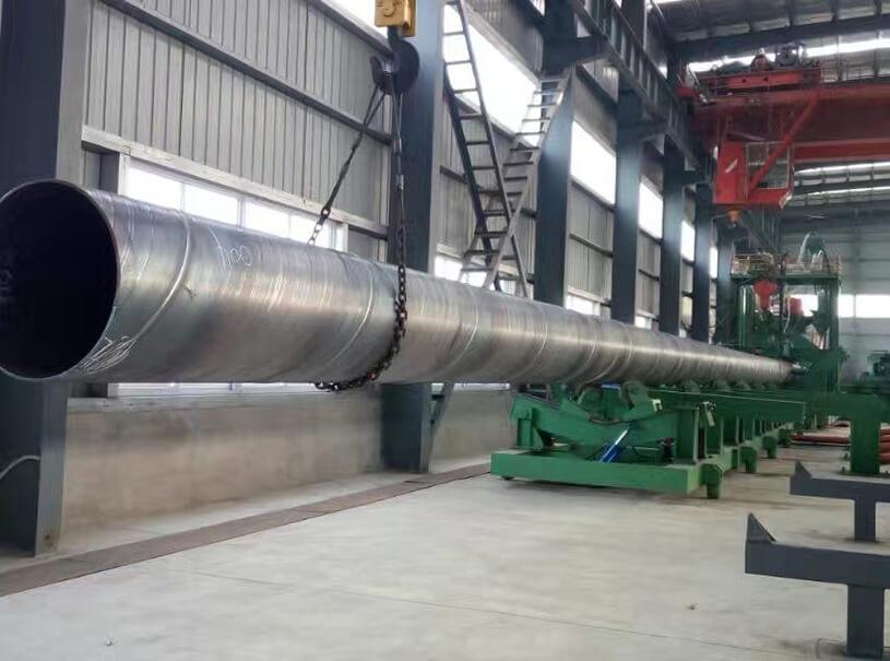 Pipe Pile EN10219 S275JR-S355J2 Spiral Steel Pipe
