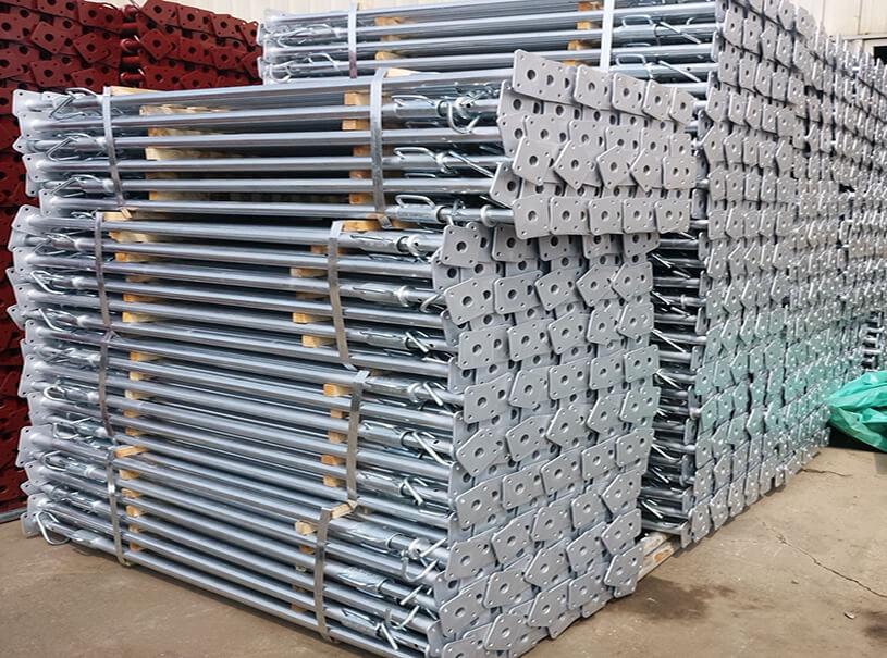 Steel Props Galvanized Adjustable Length