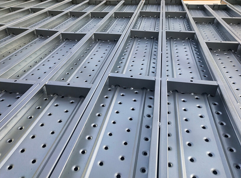 Pre Galvanized Metal Steel Plank For Construction