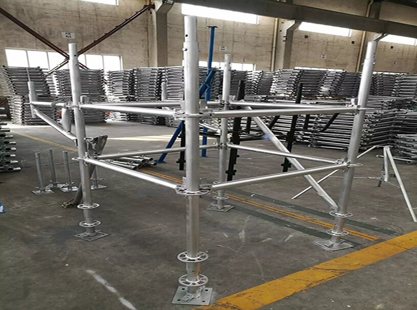 En 12811 Standard High Strength Ringlock Scaffolding