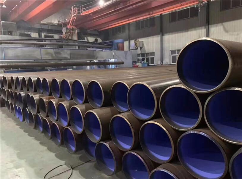 Oil & Gas LSAW Steel pipe API 5L grade B-X70