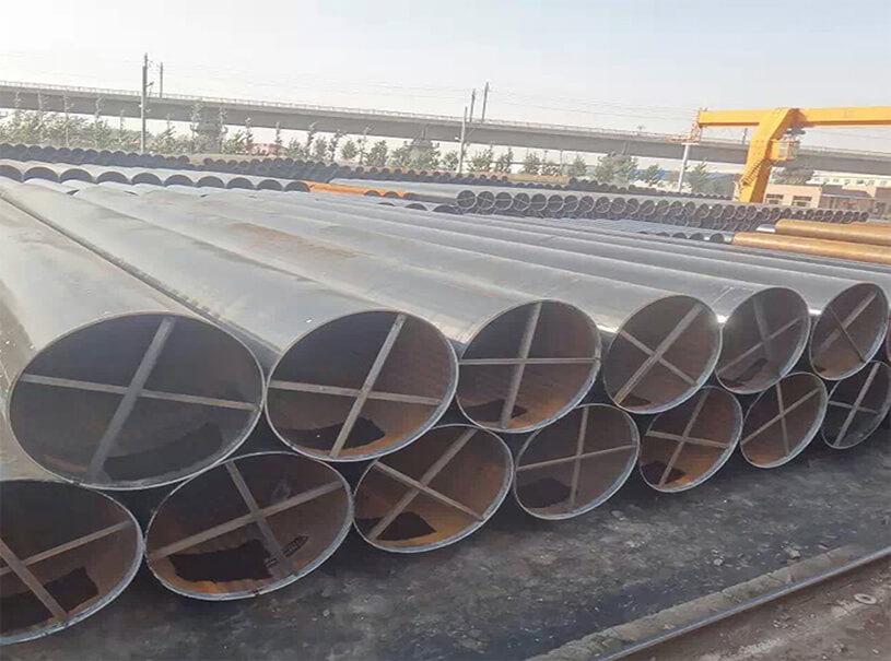 LSAW DSAW Welded Steel Pipe ASTM BS