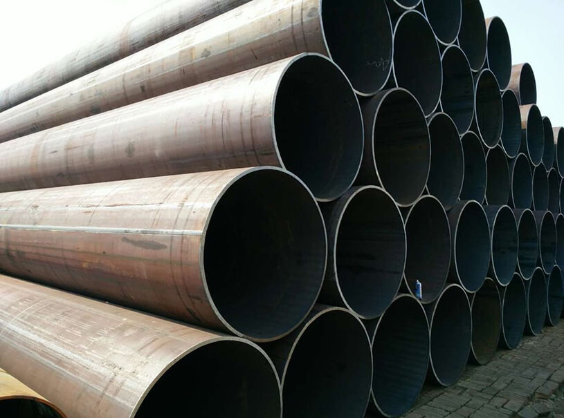 LSAW Steel Pipe ASTM A53 BS1387