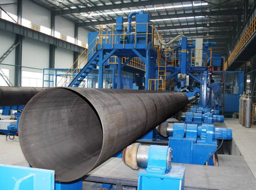 LSAW Welded Steel Pipe BS DIN 2458
