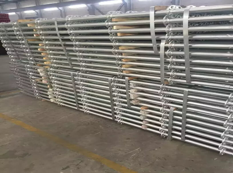 Hot Galvanized Ringlock Scaffolding For Building