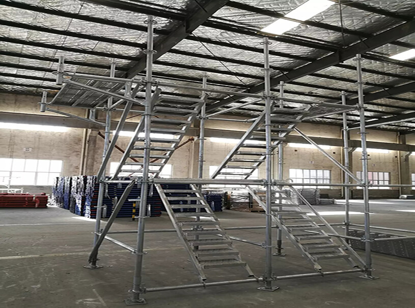 HDG Q235 Q355 Ringlock Scaffolding Stand