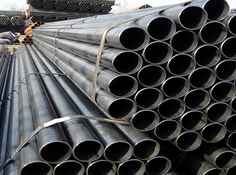 Black ERW Steel Pipe ASTM A53 Gr.A Gr.B