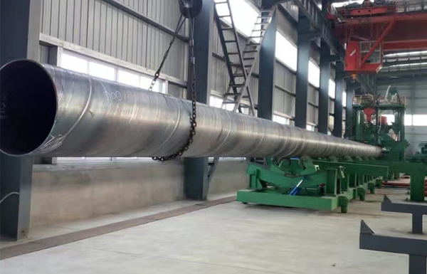 Ssaw Pipe Production line