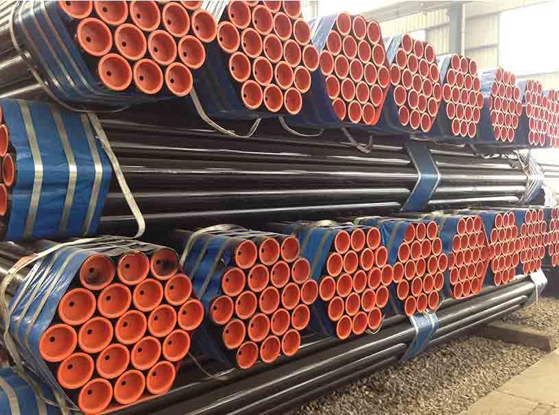 Welded Steel Pipe Oil Gas Pipeline API 5L GR.B-X70 HFW