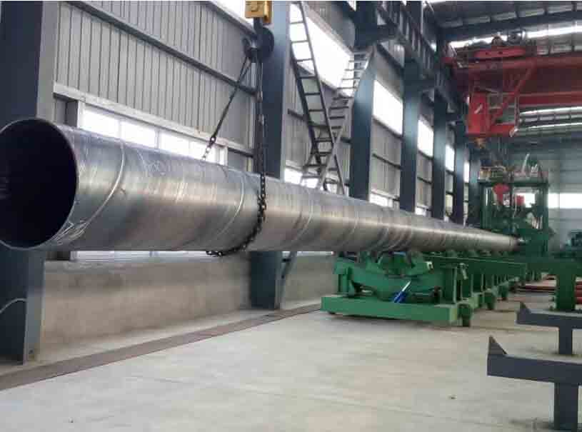 Pipe Pile EN10219 S275JR-S355J2 Spiral Steel Pipe
