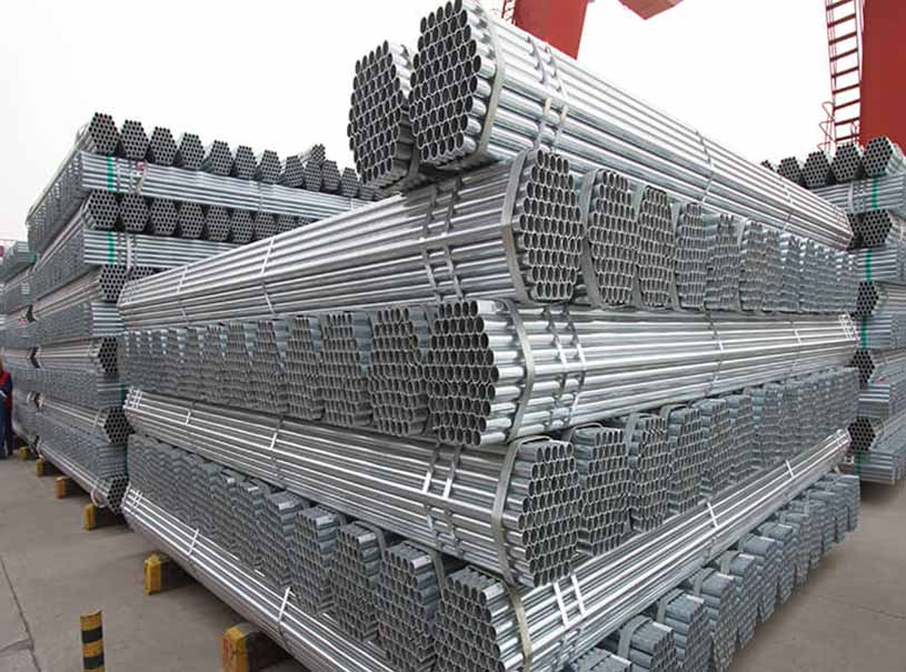 Hot Dip Galvanized Pipe BS ASTM EN