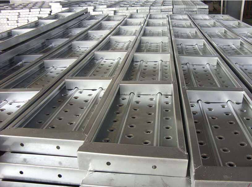 Pre Galvanized Perforated Steel Scaffolding Plank