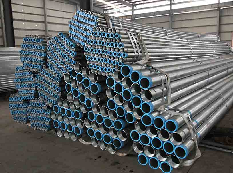 Fluid Conveying Welded ERW Carbon Steel Pipe